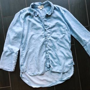 Anthropologie | Cloth and Stone chambray top